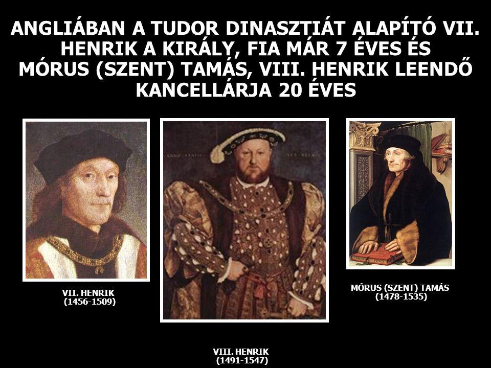 MÓRUS (SZENT) TAMÁS (1478-1535)