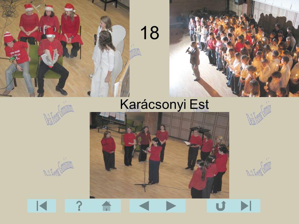 18 Karácsonyi Est