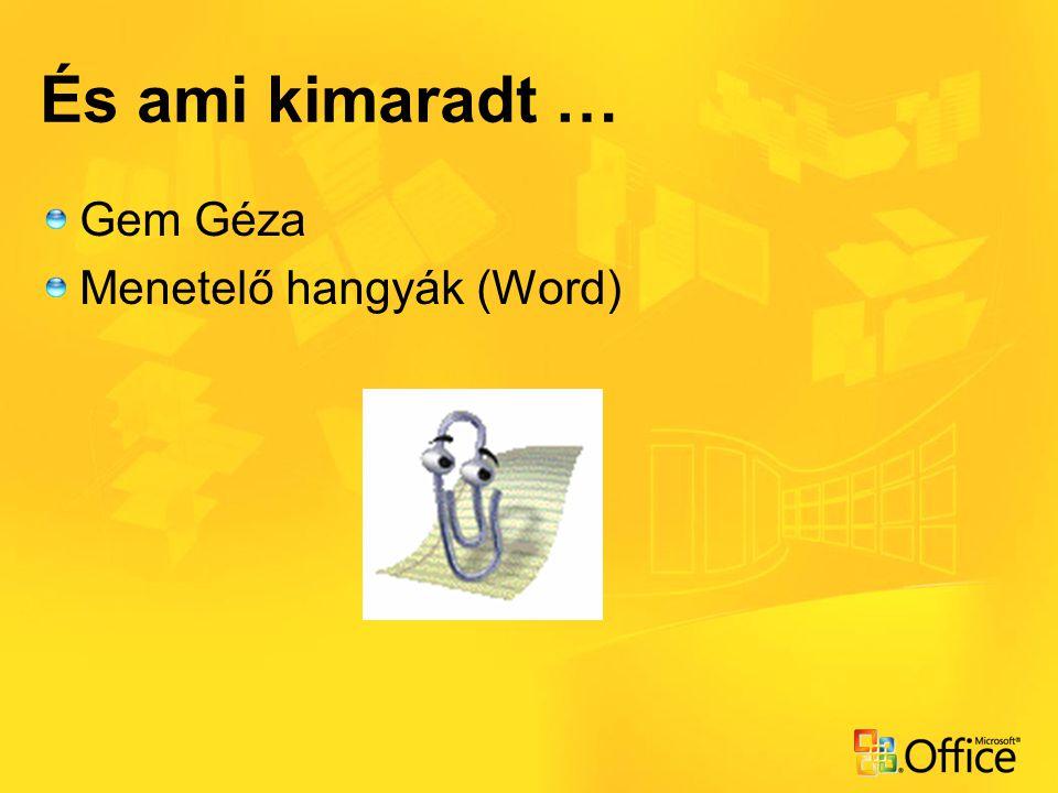 És ami kimaradt … Gem Géza Menetelő hangyák (Word)