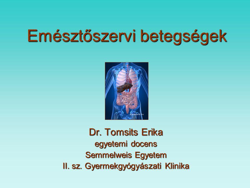 Emésztőszervi betegségek