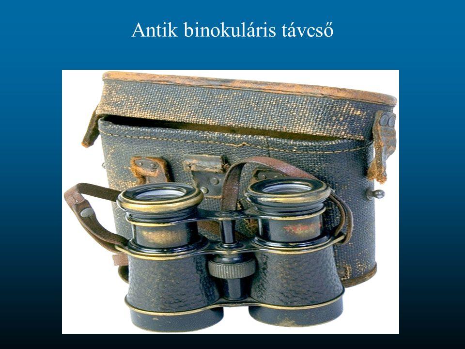 Antik binokuláris távcső