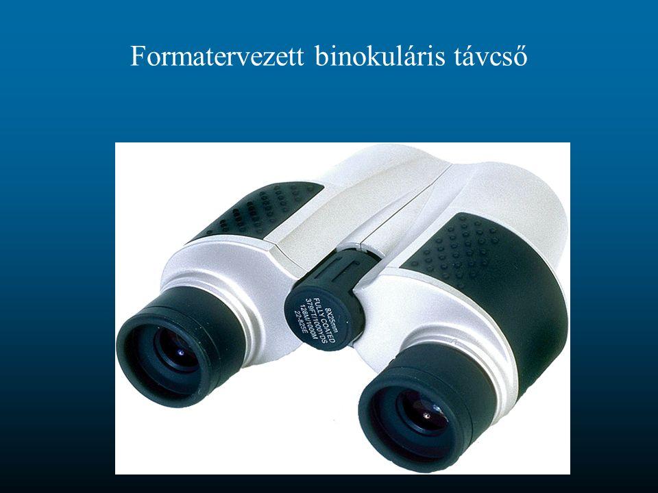 Formatervezett binokuláris távcső