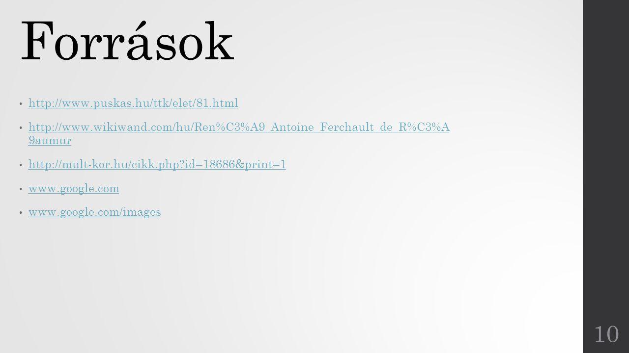 Források http://www.puskas.hu/ttk/elet/81.html