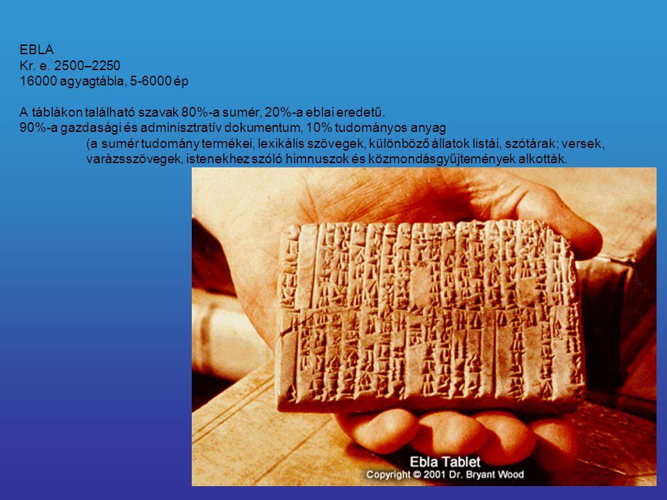EBLA Kr. e.