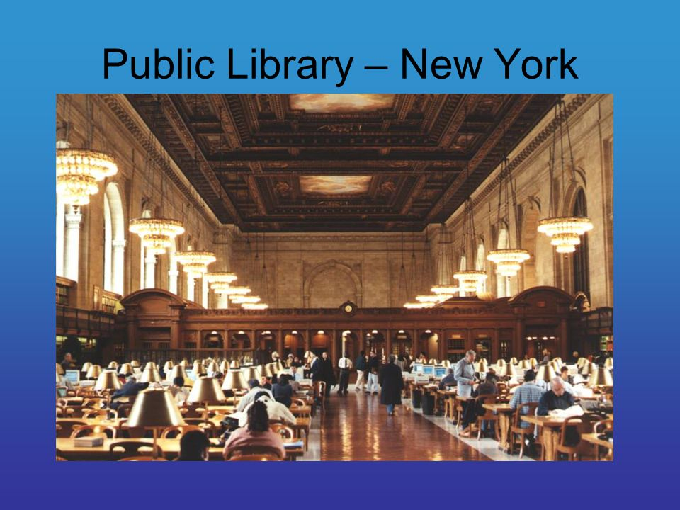 Public Library – New York