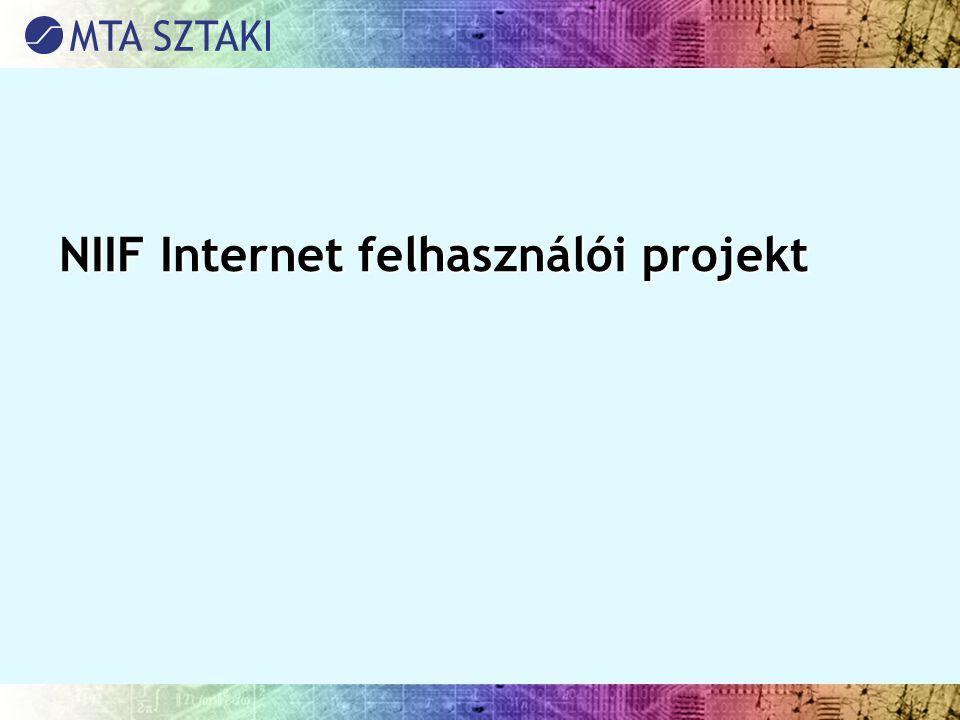NIIF Internet felhasználói projekt
