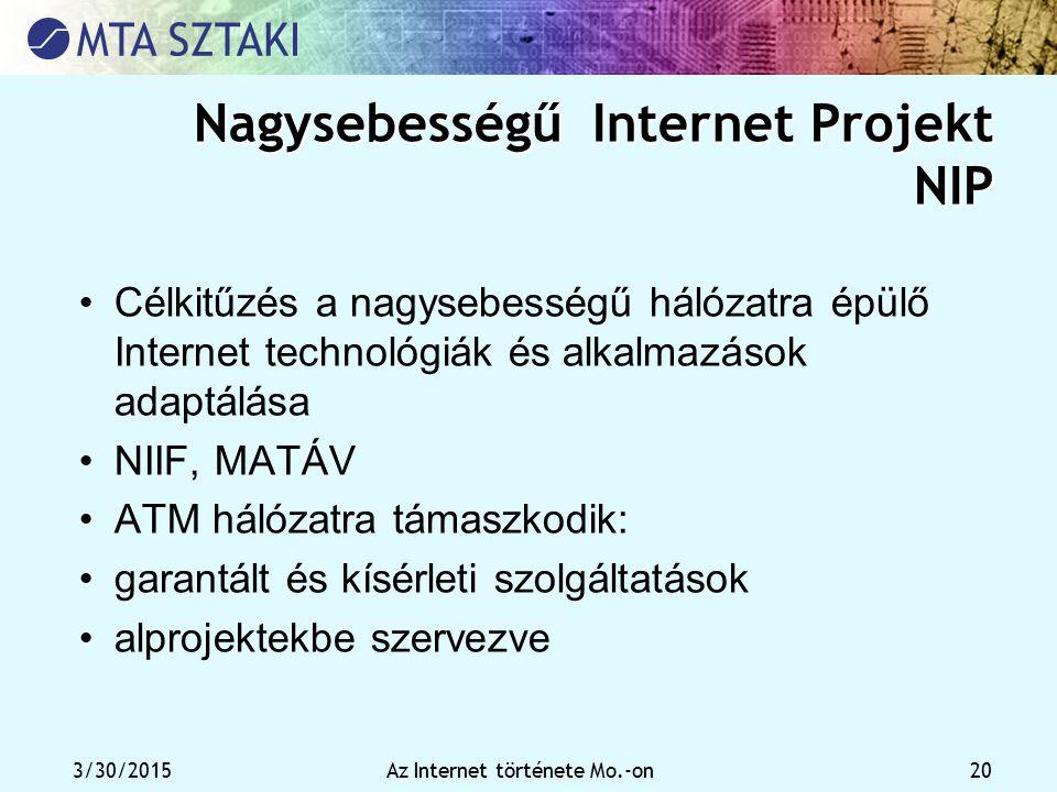 Nagysebességű Internet Projekt NIP
