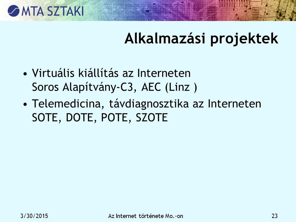 Alkalmazási projektek