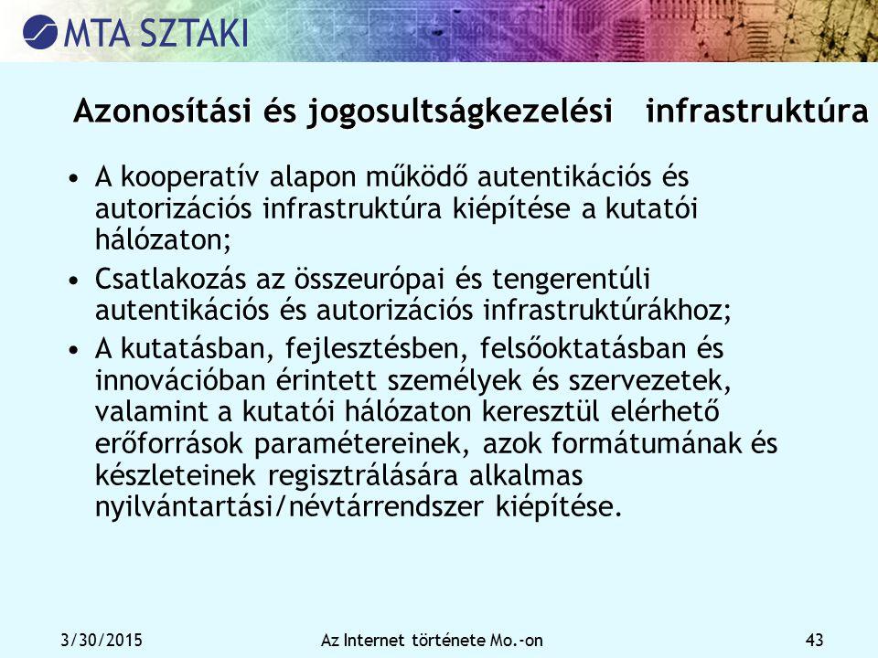 Azonosítási és jogosultságkezelési infrastruktúra