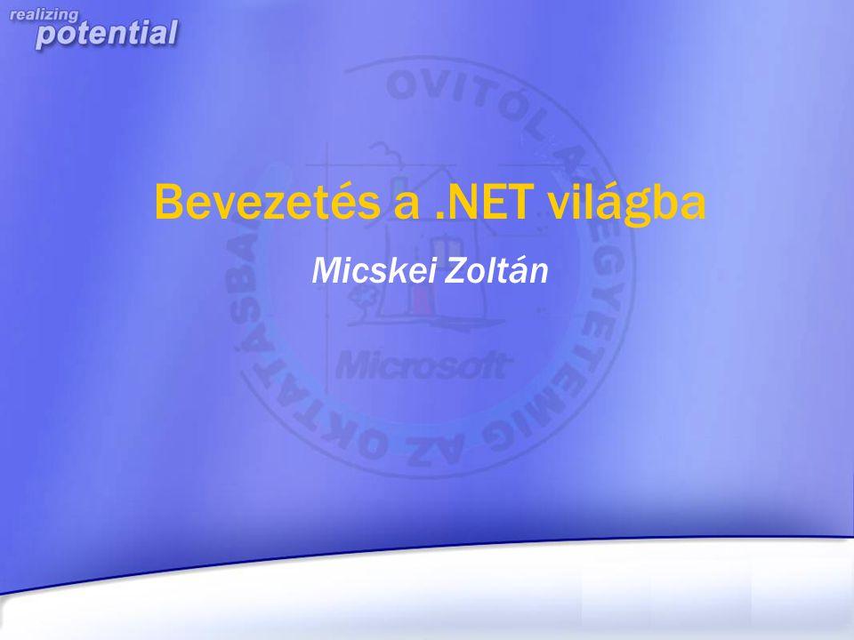 Bevezetés a .NET világba