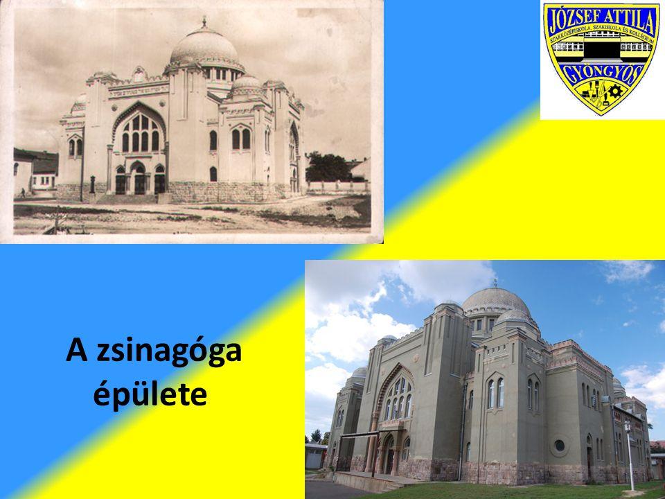 A zsinagóga épülete