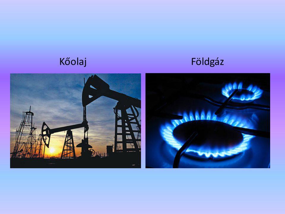 Kőolaj Földgáz