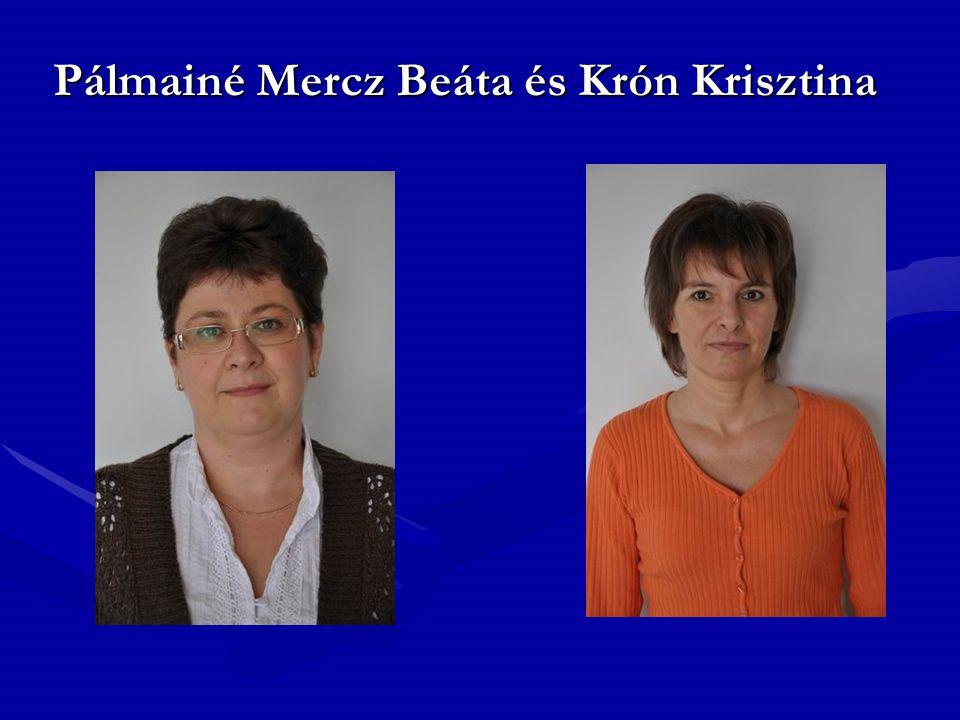 Pálmainé Mercz Beáta és Krón Krisztina