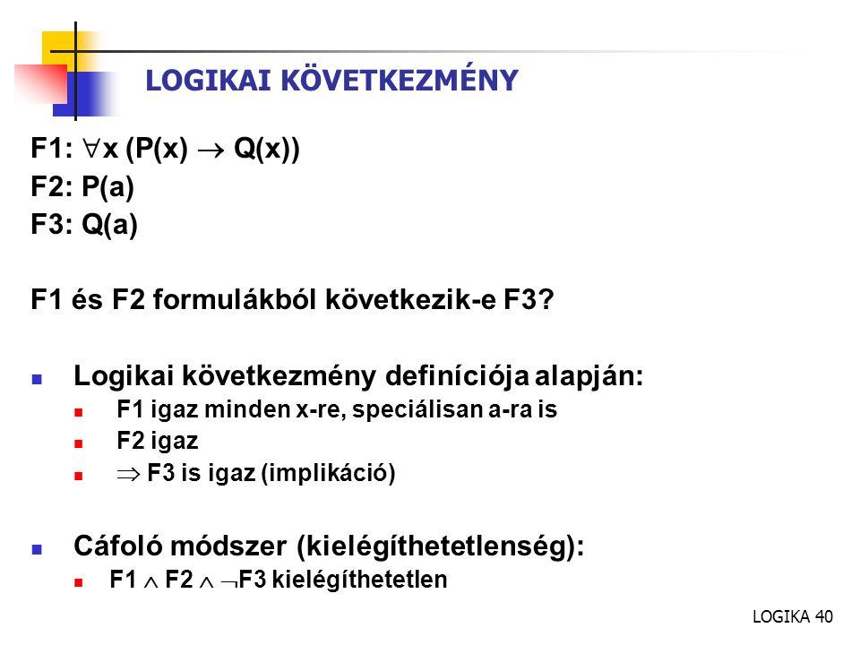 F1 és F2 formulákból következik-e F3
