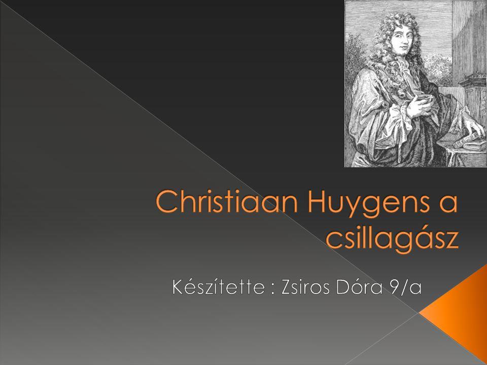 Christiaan Huygens a csillagász