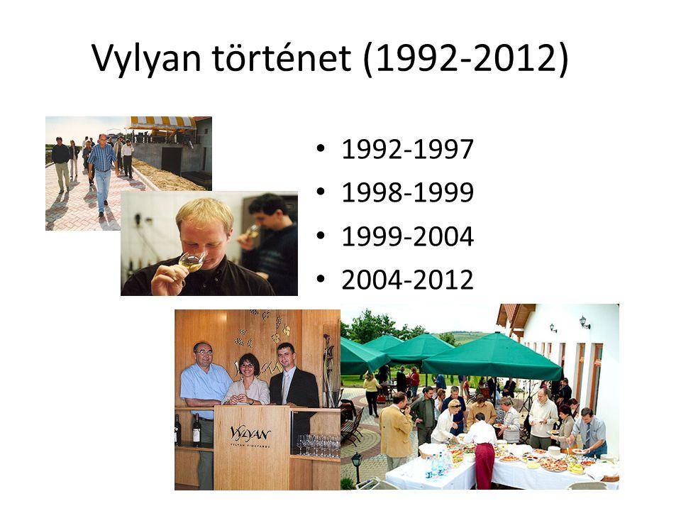 Vylyan történet (1992-2012) 1992-1997 1998-1999 1999-2004 2004-2012