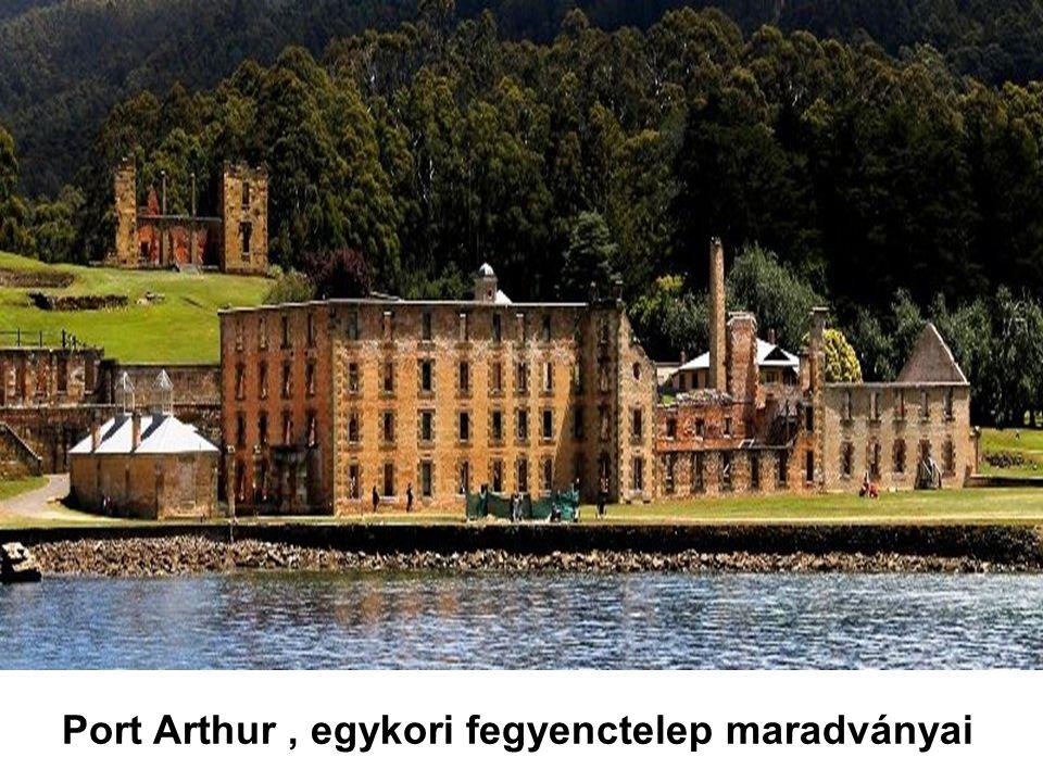 Port Arthur , egykori fegyenctelep maradványai