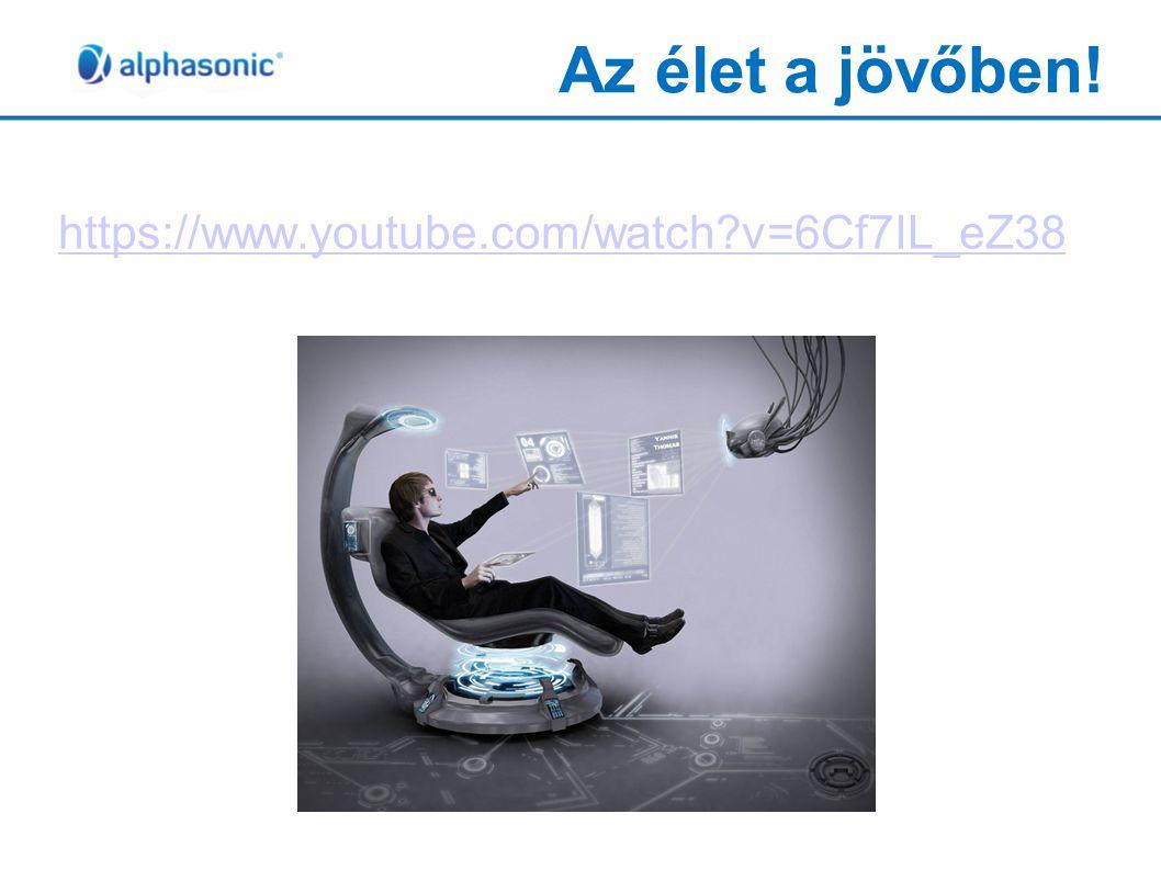 Az élet a jövőben! https://www.youtube.com/watch v=6Cf7IL_eZ38