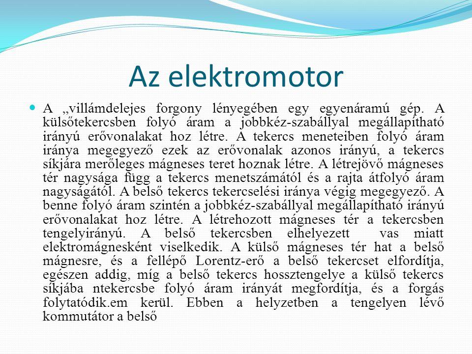 Az elektromotor