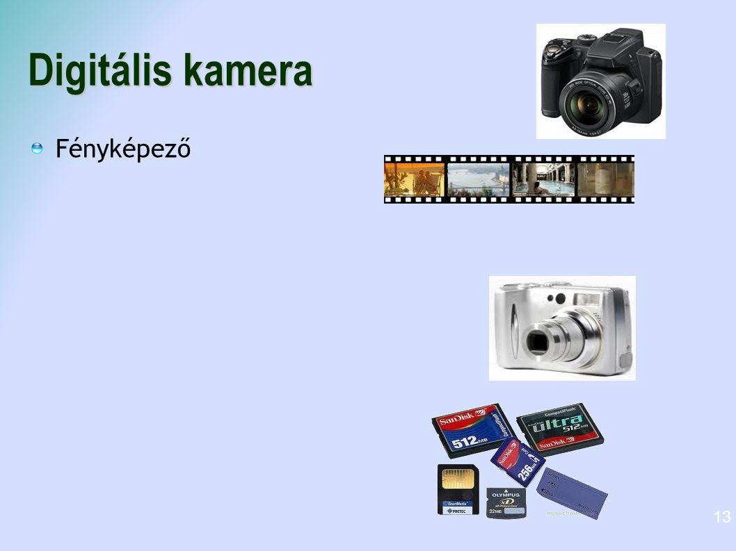Digitális kamera Fényképező
