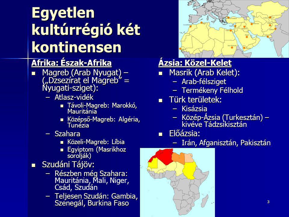 Egyetlen kultúrrégió két kontinensen
