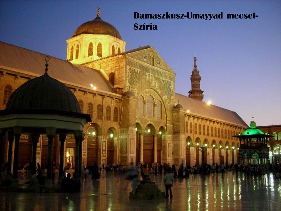 Damaszkusz-Umayyad mecset- Szíria
