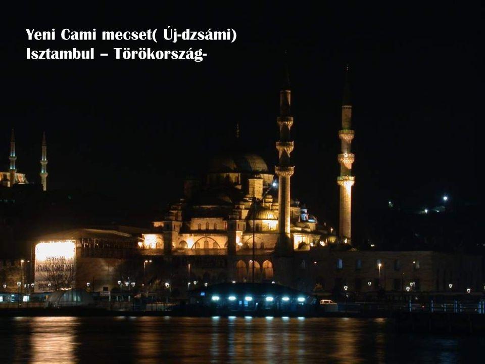 Yeni Cami mecset( Új-dzsámi) Isztambul – Törökország-