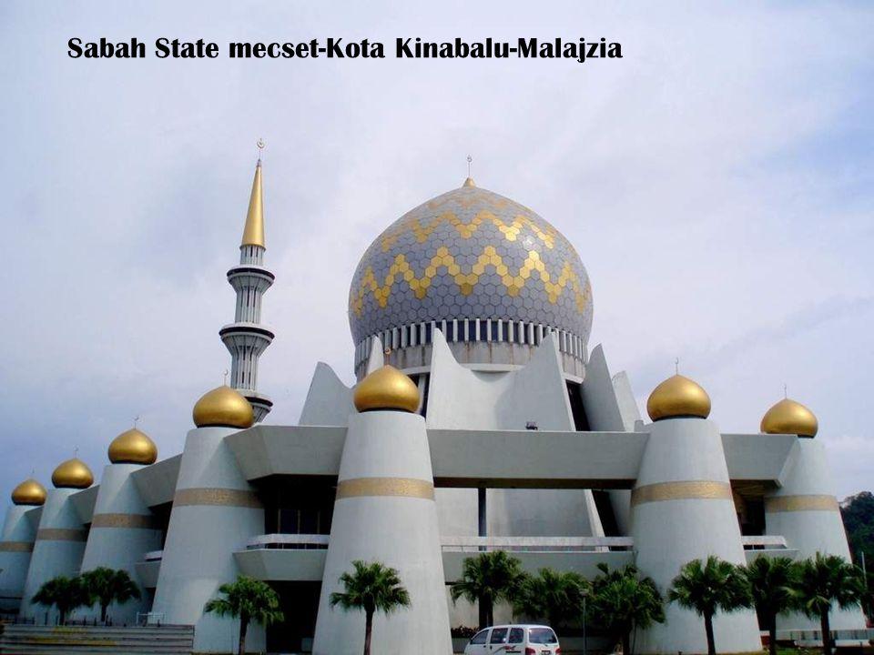 Sabah State mecset-Kota Kinabalu-Malajzia
