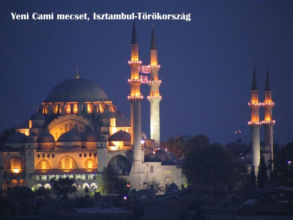 Yeni Cami mecset, Isztambul-Törökország