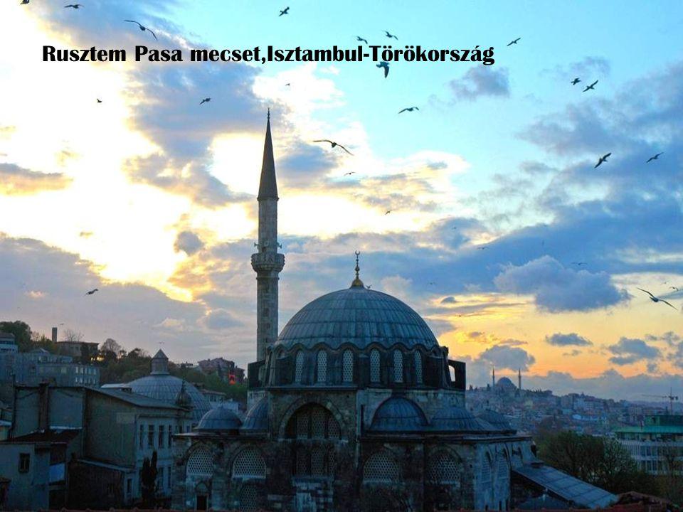 Rusztem Pasa mecset,Isztambul-Törökország