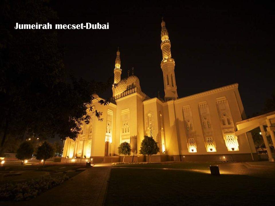 Jumeirah mecset-Dubai