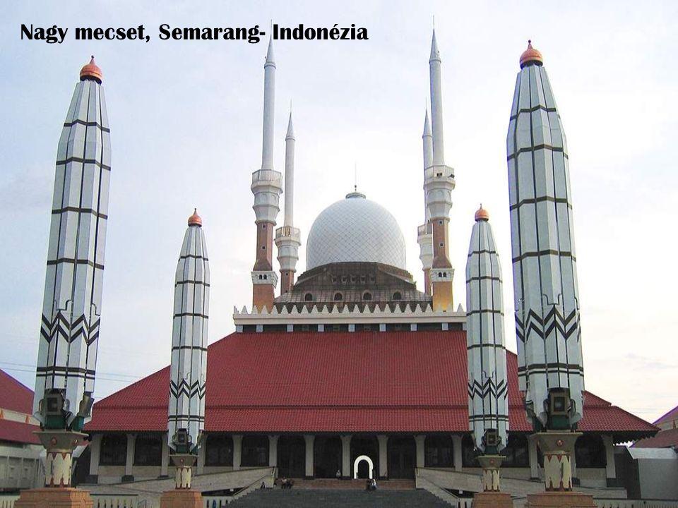 Nagy mecset, Semarang- Indonézia