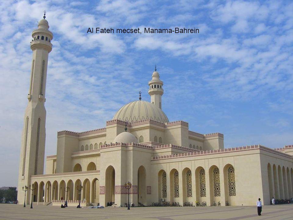Al Fateh mecset, Manama-Bahrein