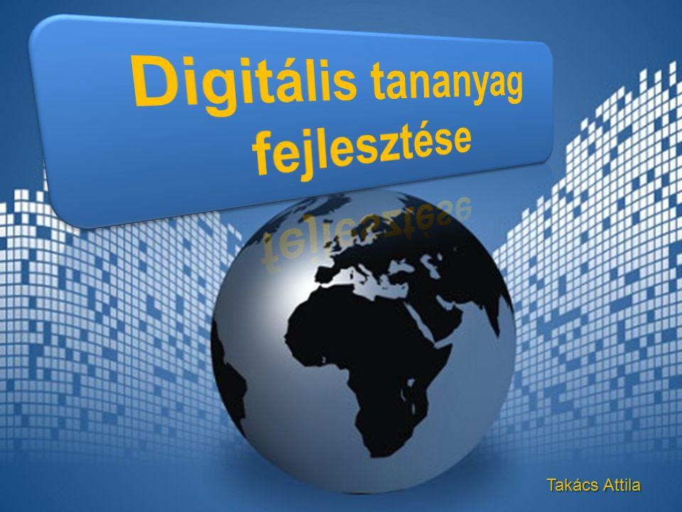 Digitális tananyag fejlesztése