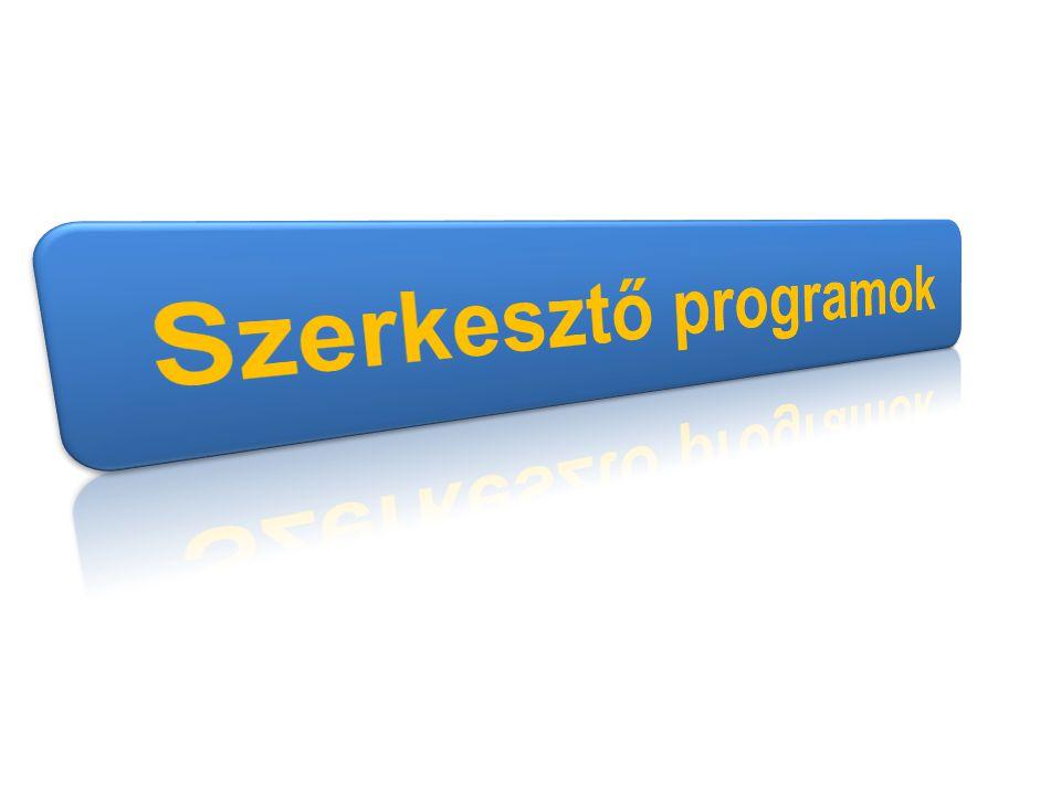 Szerkesztő programok