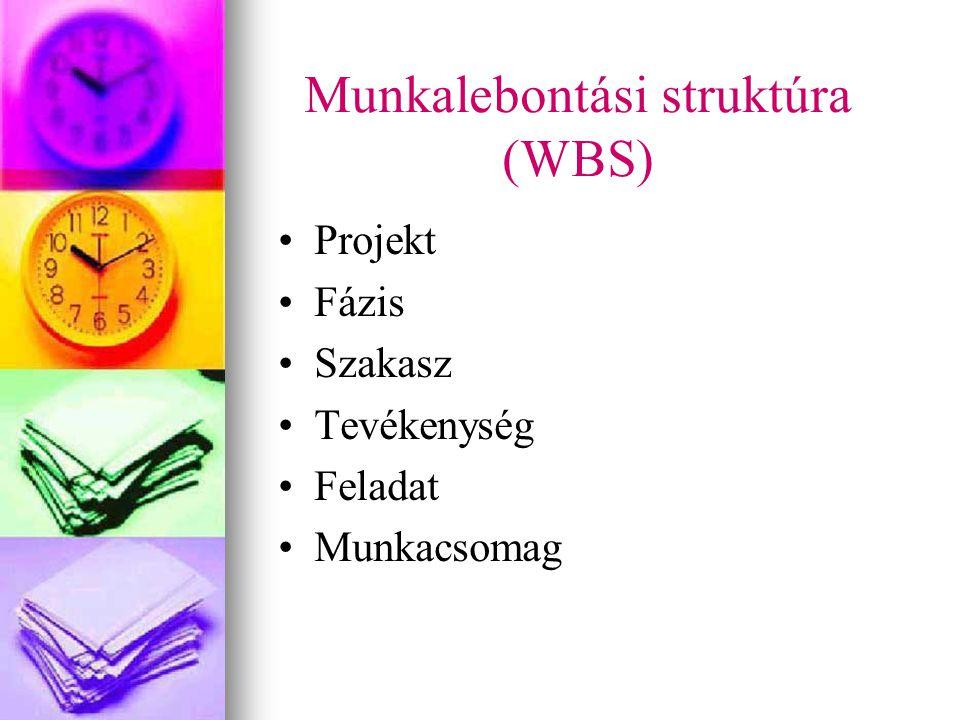 Munkalebontási struktúra (WBS)