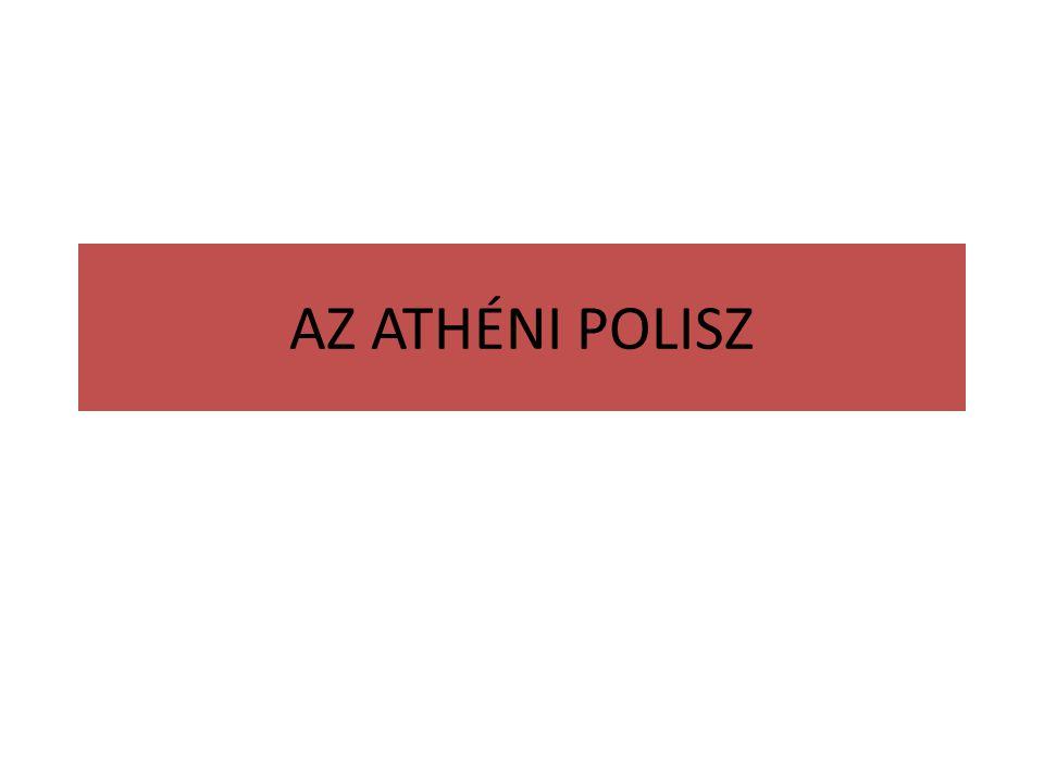 AZ ATHÉNI POLISZ