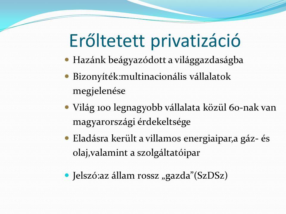 Erőltetett privatizáció