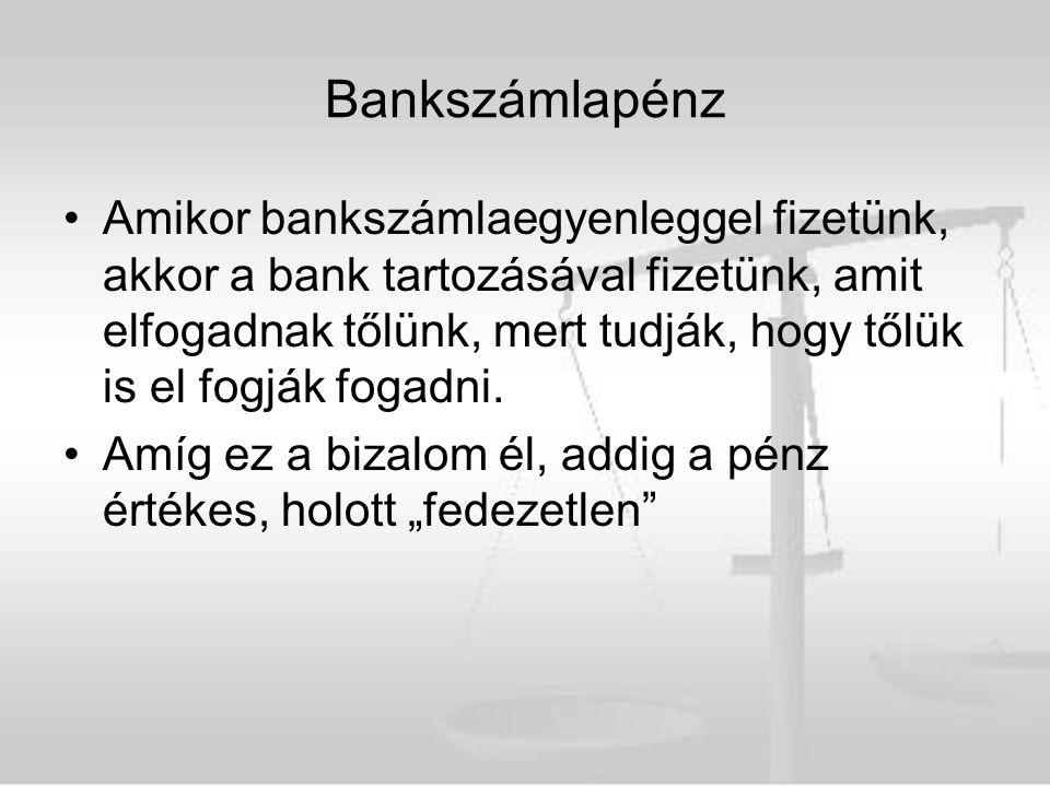 Bankszámlapénz