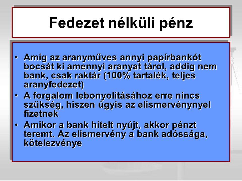 Fedezet nélküli pénz