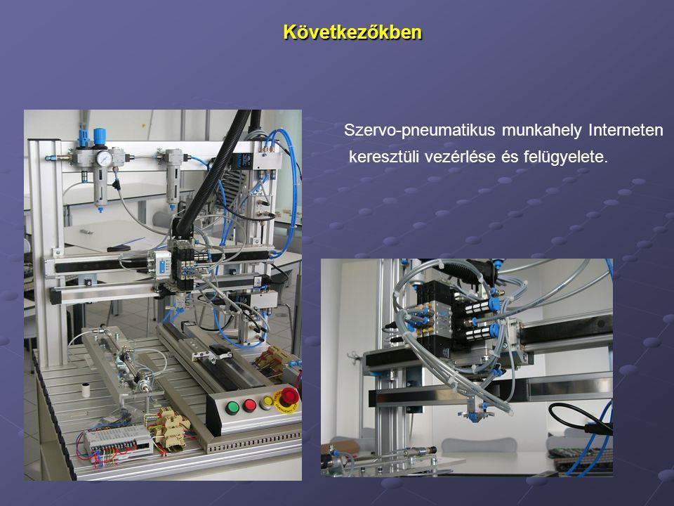 Következőkben Szervo-pneumatikus munkahely Interneten
