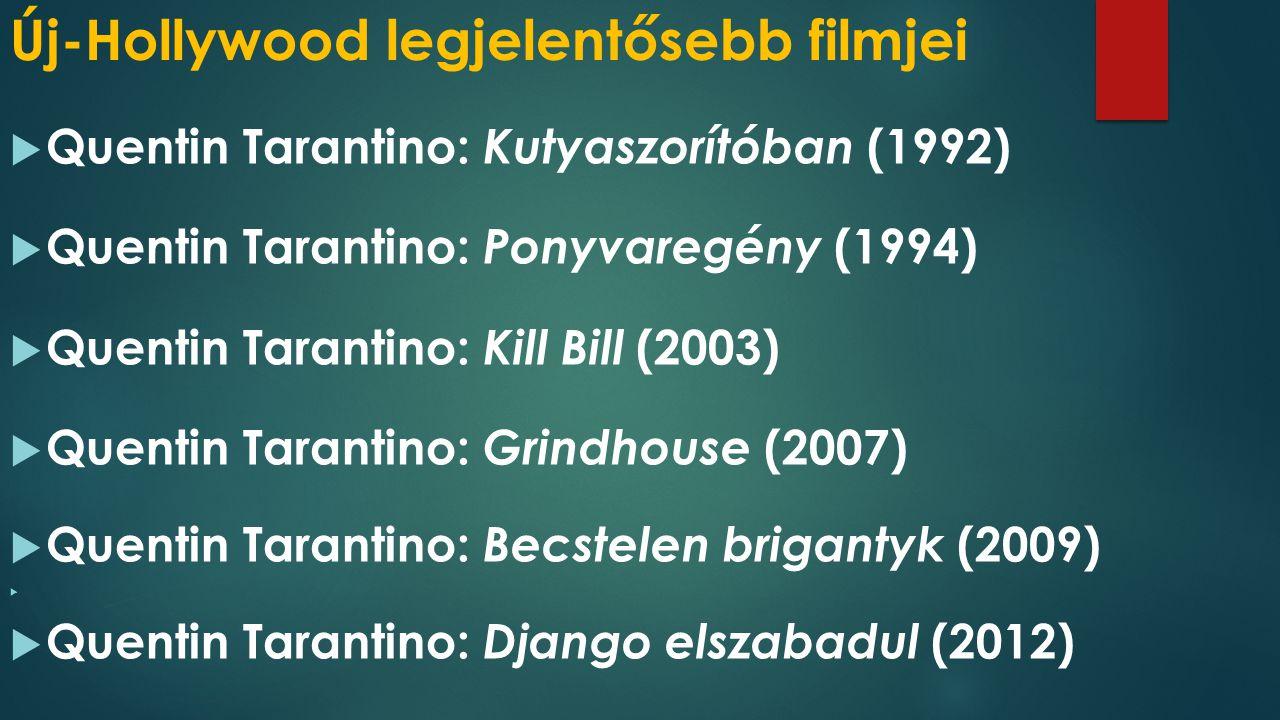 Új-Hollywood legjelentősebb filmjei