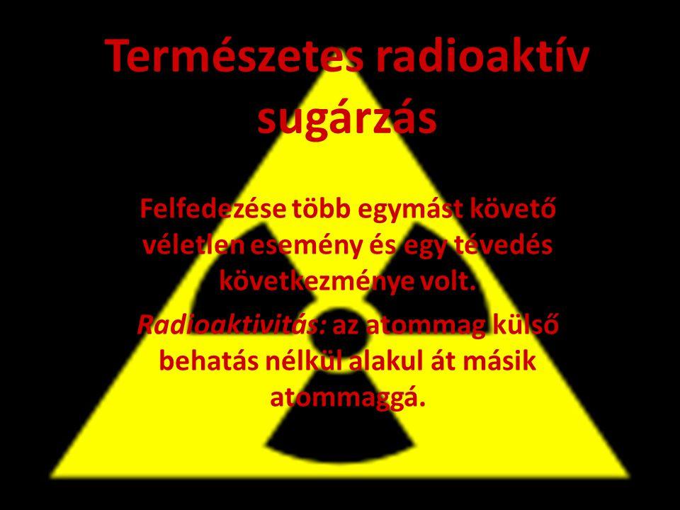 Természetes radioaktív sugárzás