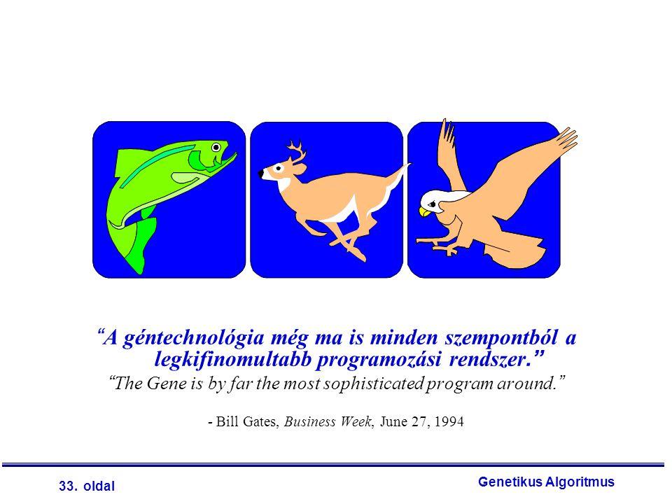 A géntechnológia még ma is minden szempontból a legkifinomultabb programozási rendszer.
