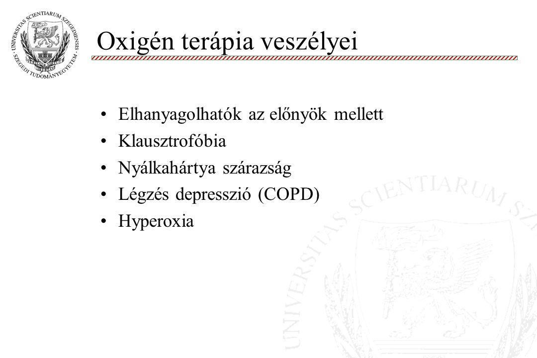Oxigén terápia veszélyei