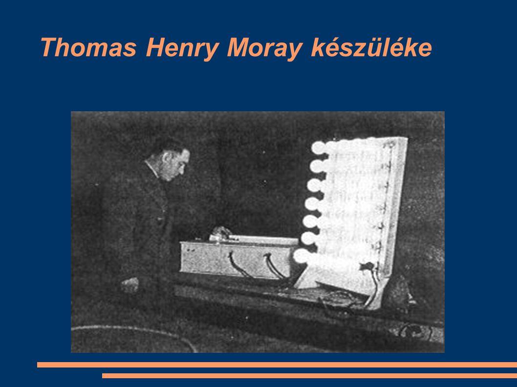 Thomas Henry Moray készüléke