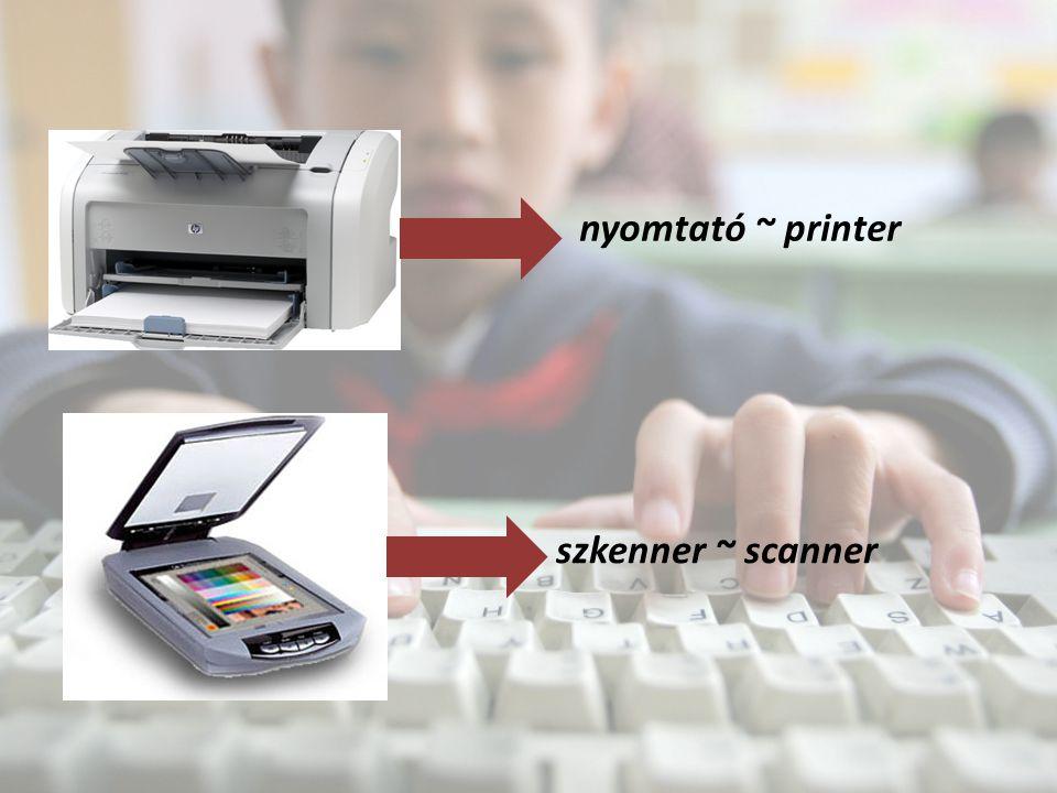 nyomtató ~ printer szkenner ~ scanner