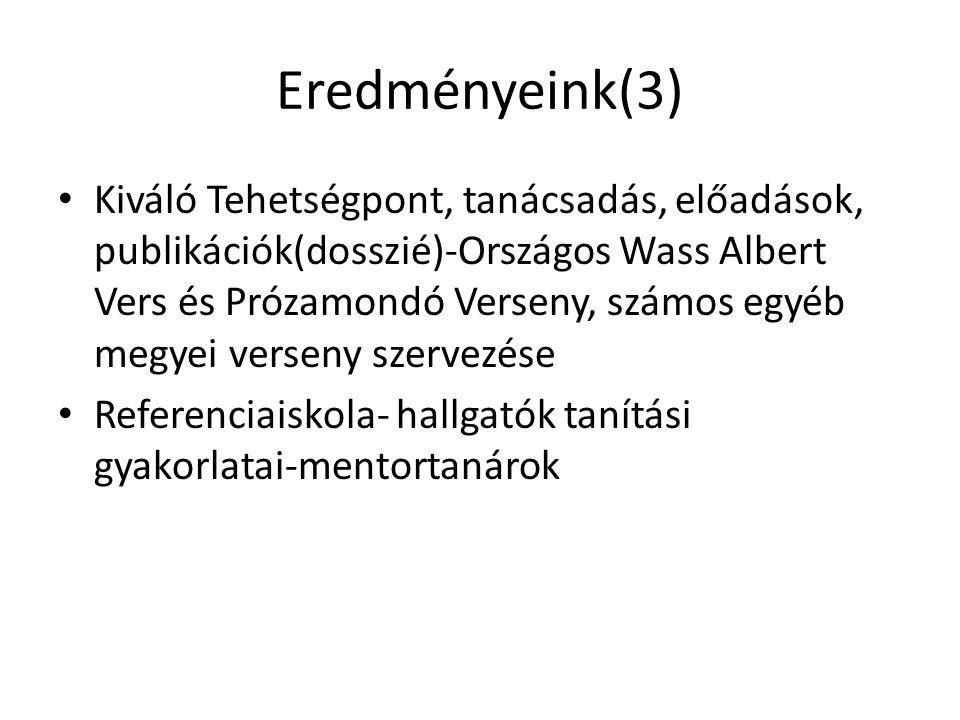 Eredményeink(3)