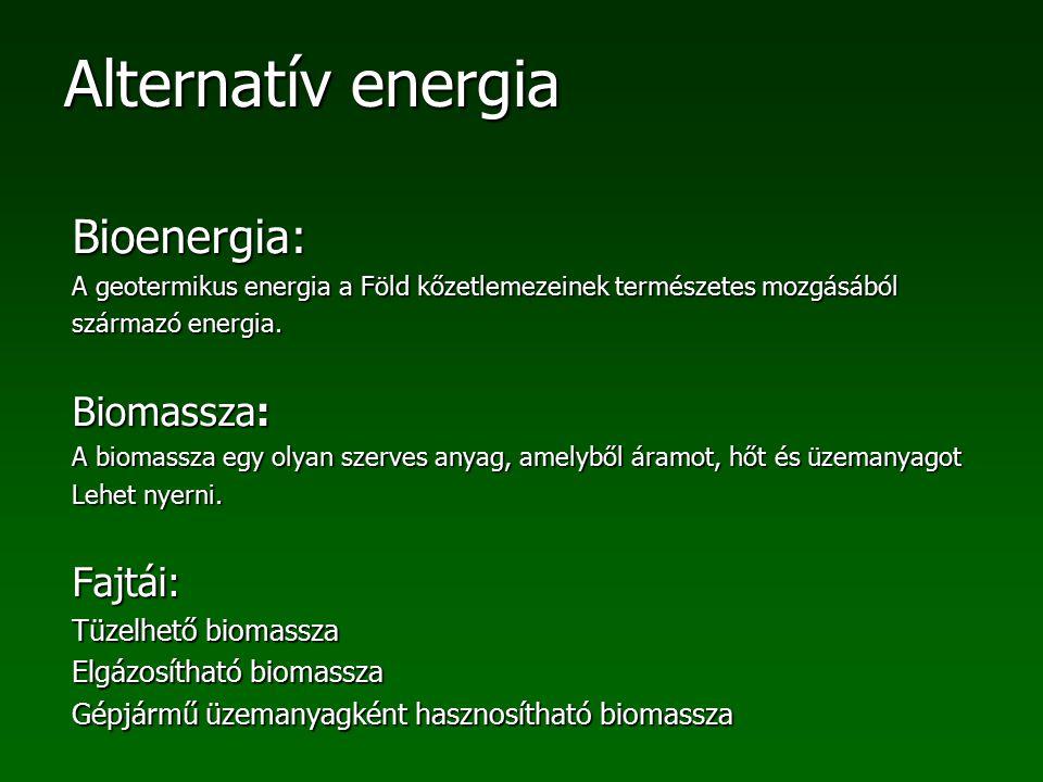 Bioenergia: Biomassza: Fajtái: Tüzelhető biomassza