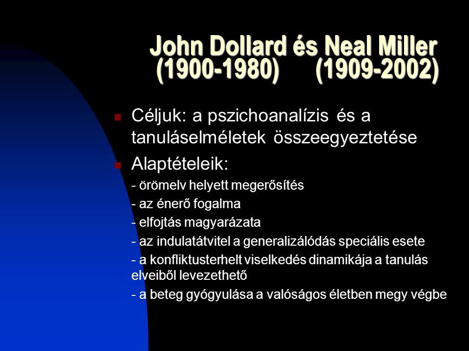 John Dollard és Neal Miller (1900-1980) (1909-2002)